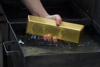 Россия в I квартале увеличила выпуск золота на 13,3%