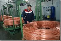 В Калининградской области запустили производство медной катанки